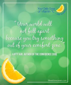 #careers #confidence #vitaminc #quotes from 9 Lives for Women