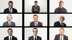 Late Night Group Texts with Conan O'Brien, Stephen Colbert, Jimmy Kimmel, Larry Wilmore, John Oliver, and More.
