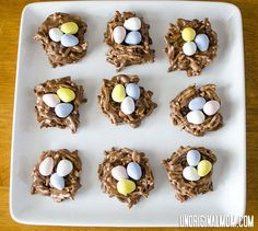 Easter Treat: Chocolate Peanut Butter Nests