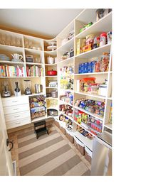 { New House Tour } Pantry Makeover Before AND After Photos! | Kevin & Amanda