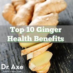 If you want to have healthier skin, reduce inflammation and reverse disease then look no further than ginger. Ginger health benefits are due to it's high levels Fitness Nutrition, Health And Nutrition, Health And Wellness, Health Tips, Shot Recipes, Real Food Recipes, Health Benefits Of Ginger, Natural Kitchen, Alternative Health