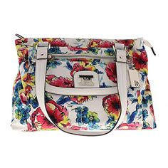 Style  Co Womens Yassimen Floral Print Satchel Handbag Multi Medium -- You can find out more details at the link of the image.Note:It is affiliate link to Amazon.