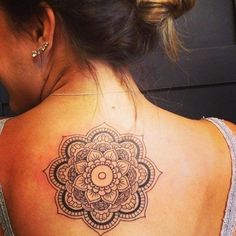 Bonus: Feathers and Flowers and All the Pretty Things! - 31 of the Prettiest Mandala Tattoos on Pinterest - Livingly
