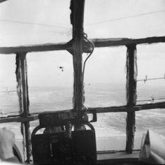 Inside a glider going into Holland/September 1944