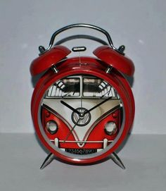 VW Kombi Clock - right in time...