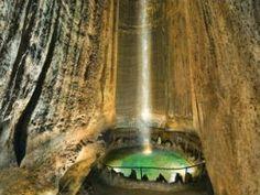 Cachoeira subterrânea Ruby Falls - Tennessee - EUA - AC Variedades