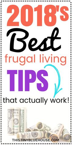 If you're looking to start living a more frugal lifestyle these tips & tricks can easily get you started. Best of all, these frugal living ideas are easy to implement and are guaranteed to help you save money. Frugal Living | Frugal Living Tips | Frugal L