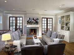 What do you like about this #Cottage inspired #LivingRoom? credit: Stacie Monroe