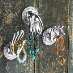 3-Pc. Hand of the Buddha Wall Accents