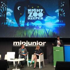 Night Zookeeper talking at #MIPJunior 2014 in Cannes