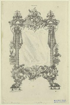 [French Rococo design.] Creator: Page, James, ornamental draftsman and designer -- Artist Published Date: 1886