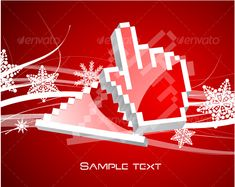Realistic Graphic DOWNLOAD (.ai, .psd) :: http://jquery.re/pinterest-itmid-1000069136i.html ... Christmas and Technology ...  arrow, background, card, christmas, cursor, design, hand, illustration, new, pointer, red, snowflake, technology, vector, year  ... Realistic Photo Graphic Print Obejct Business Web Elements Illustration Design Templates ... DOWNLOAD :: http://jquery.re/pinterest-itmid-1000069136i.html