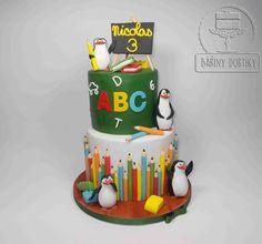 crazy penguins by Bára Cetkovská - Bářiny dortíky