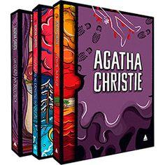 Livro - Box Coleção Agatha Christie: Assassinato no Expresso do Oriente, Morte no Nilo, Um Corpo na Biblioteca