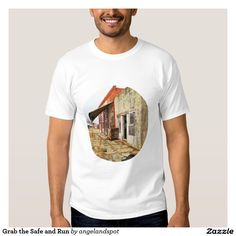 T-Shirts 3dRose Cassie Peters Barns Fall Autumn Barn