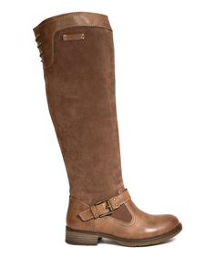 Love this Bucco Brown Castley Boot by Bucco on #zulily! #zulilyfinds