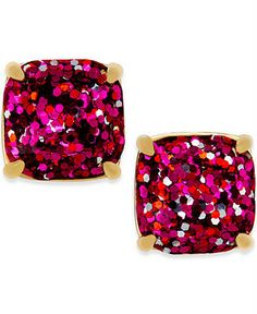 A pair of glistening beauties from kate spade new york, these stud earrings flaunt rich red for a sparkling pop of style. #katespade #sparkle #blueroofind
