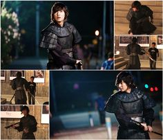 """""""Faith"""" Lee Min-ho's sword fighting skill He plays General Choi Young in this series, lots of fighting scenes."""