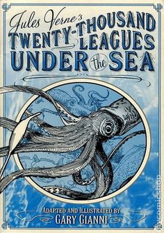 Leagues Under the Sea by Jules Verne. It still holds up well. This book was one of the reasons for my lifelong passion for the sea and Sci-fi. Jules Verne, Tribal Shoulder Tattoos, Mens Shoulder Tattoo, Tribal Tattoos, Science Fiction, Literary Genre, Nemo, Leagues Under The Sea, Classic Books