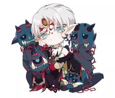 Gothic Art, Vocaloid, Chibi, Medieval, Games, Cute, Anime, Pictures, Sleeves