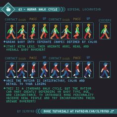 Learn Animation, Pixel Animation, How To Pixel Art, Piskel Art, Frame By Frame Animation, 8bit Art, Pixel Art Games, Pixel Design, Animation Tutorial