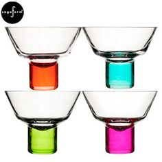 Sagaform Club Martini Glasses - Set of 4