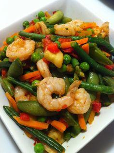 Shrimp Stir Fry- 21 Day Fix APPROVED