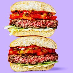 The Impossible Burger - A delicious burger made entirely from plants for people who love meat | the burger uses about 75% less water generates about 87% fewer greenhouse gases and requires around 95% less land than conventional ground beef from cows.  #ecofriendly #ecoliving #ecoconcious #environmentallyfriendly #ecoproducts #savetheplanet #greenliving #sustainable #sustainability #reducewaste #saynotoplastic #impossibleburger #greenhousegas