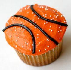 Basketball Cupcakes! My Grandson loves Basketball ;0)