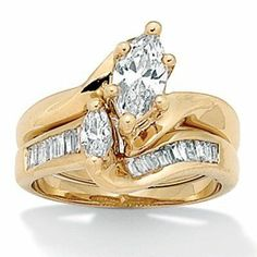 14K Yellow Gold Engagement Rings At Palm Beach 16