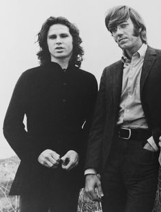 rick and the ravens | The Doors' Jim Morrison (left) with Ray Manzarek. Publicity photo.