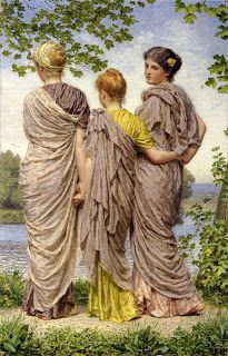 Albert Joseph Moore....Waiting to Cross