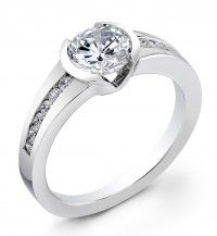 Be Enchanted by This 18K White Gold Diamond Ring, from www.24Intl.com