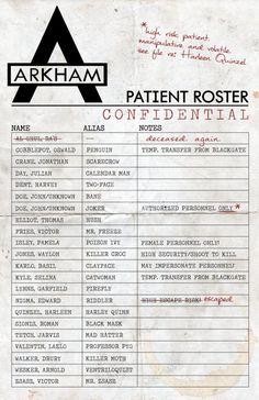 Arkham Asylum Poster by Kitty17794 on DeviantArt
