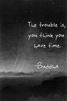 Time lies.