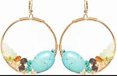 """Rory Ashton """"Mermaid"""" earrings from Signature Collection"""