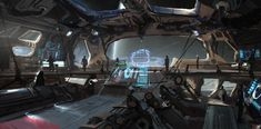 Images: A Collection Of Stunning Sci-Fi & Fantasy Concept Art From Hernan Melzi spoiler free science fiction news from the movie sleuth. Spaceship Interior, Futuristic Interior, Spaceship Art, Spaceship Design, Cardboard Spaceship, Spaceship Drawing, Spaceship Tattoo, Fantasy Concept Art, Sci Fi Fantasy