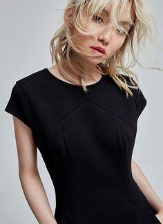 Black dress - Women dressed - AD Fashion woman - Adolfo Dominguez Online