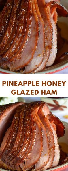 You Can Lose Pounds By Cook With BUT Only If You Use The RIGHT Way, Pineapple Honey Glazed Ham Recipe - This is a simple and delicious holiday meal! A flavorful glaze made with pineapple juice, dijon mustard and honey for your spiral ham. Pineapple Honey Glazed Ham, Pineapple Juice, Honey Ham, Ham Recipes, Cooking Recipes, Cooking Bacon, Cooking Games, Detox Recipes, Cooking Classes