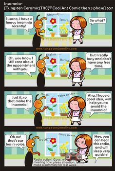 insomnia-tungsten and ceramic jewelry cool ant comic