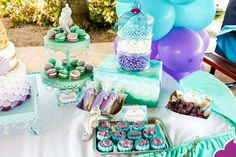 Under the real sea! A Mermaid and Pirate adventure! | CatchMyParty.com