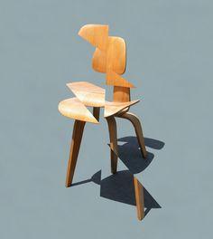 Deconstructing My Eames Chair | Michael Jantzen | Archinect