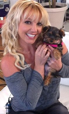 Brittany Spears and pup