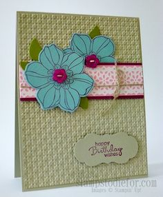 This is still one of my favorite cards I have created!  Love the #secretgarden #stampset