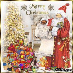 Santa prepares  his bag