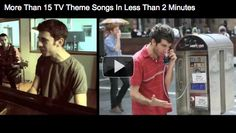 15 theme songs in 2 minutes, guess 'em