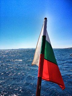 In sea