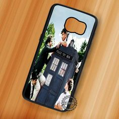 One Direction Tardis Dr Who - Samsung Galaxy S7 S6 S5 Note 7 Cases & Covers