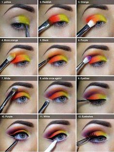Egyptian Eye-Makeup Tutorial.