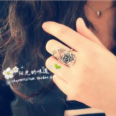 Vintage baroque rose ring female accessories index finger ring female t104 on AliExpress.com. $11.06